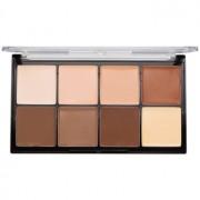 Makeup Revolution Ultra Pro HD Light Medium кремообразна палитра от контури за лице 20 гр.
