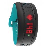 Mitac Mio FUSE Wristband activity tracker LED Senza fili Nero, Turchese