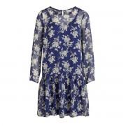 VILA Langärmeliges Voile-Kleid Viflexa