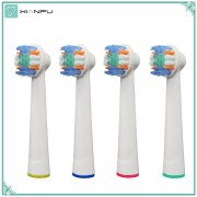 4PCS Electric Toothbrush Replacement Brush Heads Refill Oral b Pro 1000 Pro 3000 Pro 5000 Pro 7000 Vitality Floss Action heads