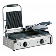 Bartscher Contact grill, double, grooved - plain