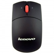 Lenovo Laser Wireless Mouse Rato 1600DPI Preto