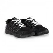 Gorilla Brooklyn Knitted Sneakers, black/white, 41