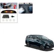Auto Addict Car White Reverse Parking Sensor With LED Display For Mahindra Marazzo