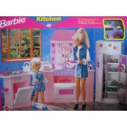 Barbie Kitchen-Everything you need for lots of fun with the Folding Pretty House