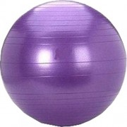 Babytintin Lifestyle Anti Burst Fitness Gym Ball Yoga Ball for Home, Office, Gym (Purple)