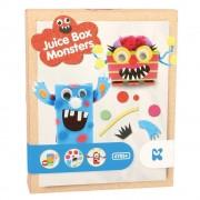 Set de creatie - Cutie de suc cu monstruleti
