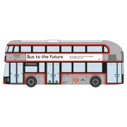 Oxford Diecast Nnr003 New Routemaster London United Bus 1:148 N Scale