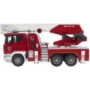 Masina de Pompieri Scania cu Pompa de Apa, Lumini & Sunete