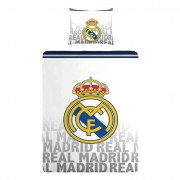 Real Madrid C.F. Real Madrid dekbedovertrek - 100% katoen -