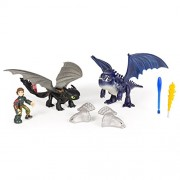 DreamWorks Dragons Toothless Hiccup Vs. Armored Dragon Figures