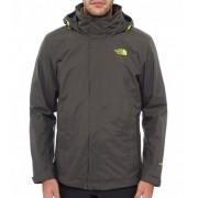 The North Face Men Evolve ll Triclimate Jacket Blk Ink Green Skaljacka Herr
