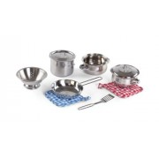 Step 2 Step2 Cooking Essentials 10-Piece Stainless Steel Set