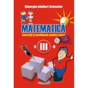 Matematica exercitii si probleme pentru clasa a III-a autor Gheorghe Adalbert Schneider
