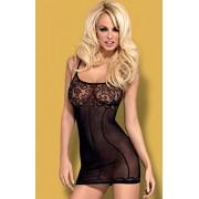 Dress black sukienka D204 (czarny)
