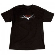 Fender Custom Shop Logo BLK S T-Shirt