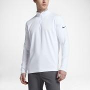 Haut de golfà manches longues Nike Dri-FIT Half-Zip pour Homme - Blanc