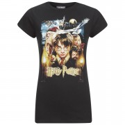 Geek Clothing Harry Potter & Friends Women's T-Shirt - Black - XXL - Zwart