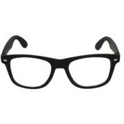 Ediotics Classic Clear Unisex Wayfarer Sunglasses