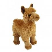 Merkloos Knuffel alpaca/lama bruin 28 cm knuffels kopen