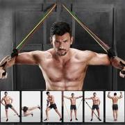 Set de benzi elastice pentru antrenament