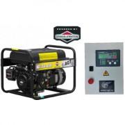 AGT 7501 BSBE R 26 AT 408 Generator curent cu pornire automata , putere 6.4 kVA , rezervor 26 l