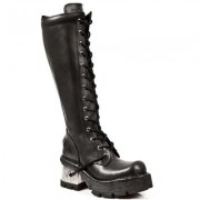stivali in pelle donna - 14-eye Boots (236-S1) - NEW ROCK - M.236-S1