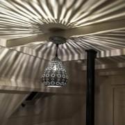 Trio Leuchten Lampada a sospensione orientale grigia - BILLA