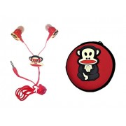 Oytra Gift Set (Earphone with Mic + Earphone Pouch) | Birthday in The Ear Headphone Gifts for Girls & Kids (Wise Monkey)