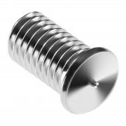 Goujons de soudage - M5 - 10 mm - Acier inoxydable - 100 pièces