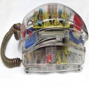 Transparent Telephone. Model Sonitel ST-200