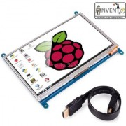 Invento 7 Inch Display HDMI 800 480 LCD with Touch Screen Monitor for Raspberry Pi 3/2