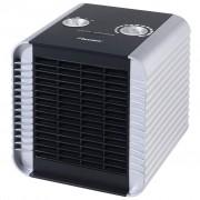 Bestron Keramický teplovzdušný ventilátor stříbrný ACH1500S