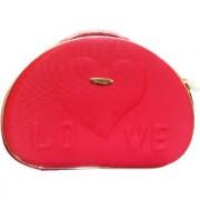 Pride Love to store cosmetics Vanity Box (Red)