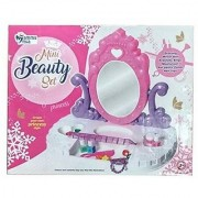 Oh Baby branded Bring Along Beauty Suitcase Makeup Vanity Set Toy for Kids - 21 Pieces FOR YOUR KIDS SE-ET-345