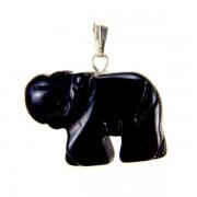 Elefánt medál - onix