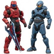 Figurine Halo Spartan Red/Blue 2Pack Artfx+