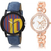 The Shopoholic Blue Maroon White Combo Fashionable Funky Look Blue And Maroon And White Dial Analog Watch For Boys And Girls Mens Brown Leather Watch
