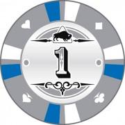 Kerámia póker zseton 1