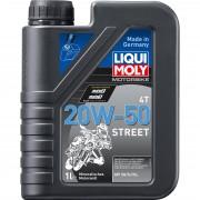 Liqui Moly Motorradmotoröl 4-takt Liqui Moly Motorbike 4T 20W-50 Street 1 Liter