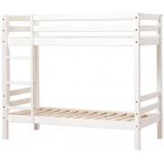 Hoppekids Basic Våningssäng 70 x 190 cm - Vit - Non-Devidable