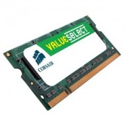 Memorie Corsair SO-DIMM ValueSelect 4GB DDR2, 800 MHz, PC2 - 6400, CL 6-6-6-18, VS4GSDS800D2