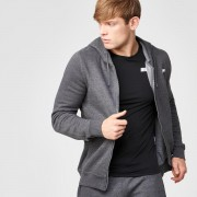 Myprotein Tru-Fit Zip Up Hoodie - Charcoal - L - Charcoal