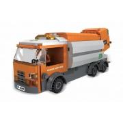 Joc de constructie My City Camion de gunoi, 410 piese, 2 figurine, 6 ani+