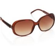 Joe Black Over-sized Sunglasses(Brown)