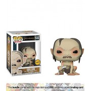 Gollum (Chase Edition): Funko Pop Movies X Lord Of The Rings Vinyl Figure + 1 Official Hobbit/Lotr Trading Card Bundle [#532]