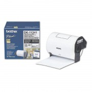 BROTHER DK Tape 102mm Black on White, 30m lenght, for P-Touch (DK11241)