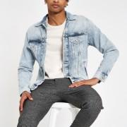 River Island Mens Pepe Jeans light Blue denim jacket (M)