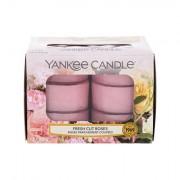 Yankee Candle Fresh Cut Roses vonné čajové svíčky 117,6 g