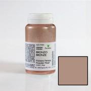 Colorant Alimentar Liposolubil Pudra Metalizata, Bronz, 25 gr - Azo Free
